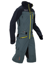 Dirtlej Dirtsuit Pro Edition Men Black/Azur/Lime