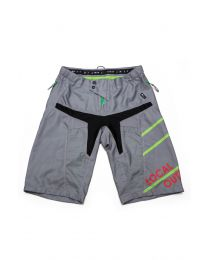 Bike Shorts Men Stream Charcoal Grey/ Jasmine Green, Grösse XS - XXL