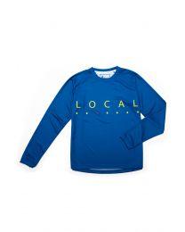 L/S Jersey Women Blob Snorkel  Blue, Grösse XS - XXL