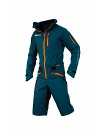 Dirtlej Dirtsuit Pro Edition Men, Saphirblau / Orange