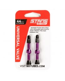 NoTubes ZTR Ventil Aluminium, purple, 44 mm, 2er Pack