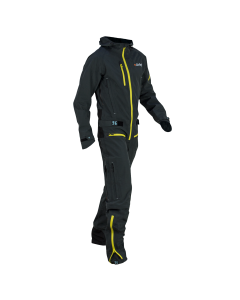 Dirtlej Dirtsuit - Core Edition Men Grau/Gelb
